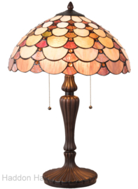 5902 Tafellamp Tiffany H60cm Ø40cm Kuori