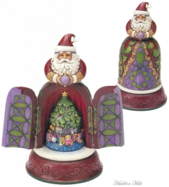 Believe  H20cm Jim Shore 4016075 Santa hidden scene Kerstman