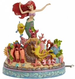 ARIEL The Little Mermaid Musical H 20cm 4039073