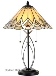 5186 Tafellamp Tiffany H60cm Ø40cm Hearst