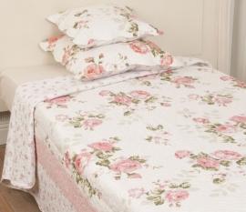 Q126 Clayre & Eef Bedsprei 140 x 220 cm  Quilt Patchwork-style beddesprei