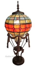 6016 Tafellamp Tiffany H71cm Ø31cm Luchtballon
