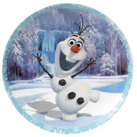Frozen OLAF Bord Ø20cm Warms Hugs Enchanting Disney