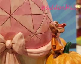 Cinderella & Mice  -Darling Dreamer   H20,5cm Event Piece Pink Dress - Roze Jurk