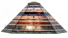 8127 Kap Tiffany 56x43cm cm Industrial