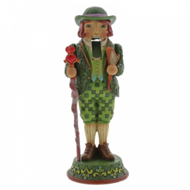 "Irish Nutcracker  ""I'm Quite Charming"" H23cm Jim Shore 6004244"