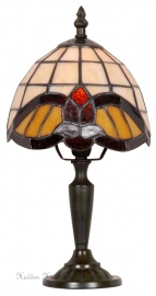 420 Tafellamp Tiffany H30cm Ø16cm