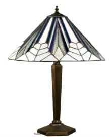 T026M Tafellamp Brons met Tiffany kap Ø41cm Astoria