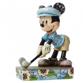 """MICKEY """"Hole In One"""" H15cm Jim Shore"""""""