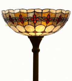 5416 Vloerlamp H180cm met Tiffany kap Ø40cm Victoria