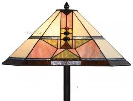 5781 Vloerlamp Zwart H164cm 48x48cm Schuitema