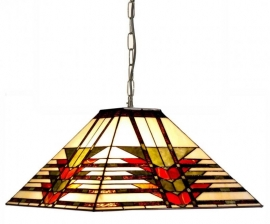 5724 Hanglamp Tiffany 47x47cm Midway