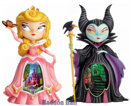Set van 2 Miss Mindy beeldjes Aurora - Maleficent