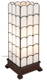 5930 Tafellamp Tiffany H45cm 17x17cm Windlicht Art Deco Paris