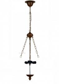 8842 Ophanging 3 Ketting voor hanglamp omhoog schijnend 3x E27