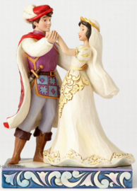 "SNOW WHITE & PRINCE ""The First Dance"" H15cm Jim Shore  4056747"