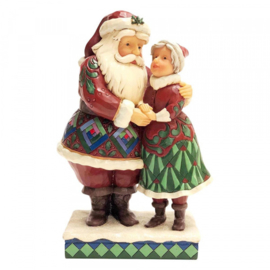 "Santa & Mrs. Claus ""Cutest Christmas Couple"" H20,5cm Jim Shore 6001465"