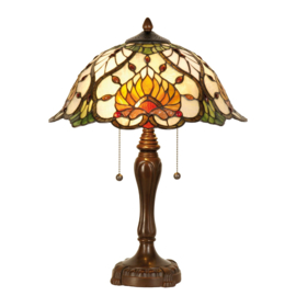 5390 Tafellamp Tiffany H50cm Ø40cm