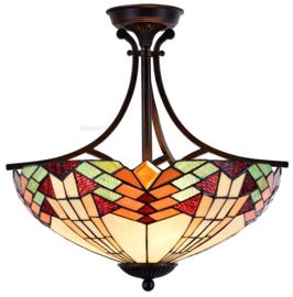 5963 Hanglamp - Plafonniere Tiffany Ø50cm Stricta