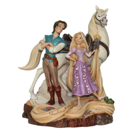 "RAPUNZEL ""Live Your Dream"" H 21cm Jim Shore 4059736 Disney Traditions"