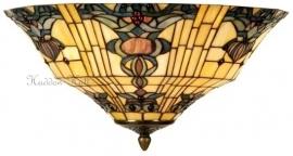 5551 80 Plafonniere Plafondlamp Tiffany Ø45cm Blue-Oyster