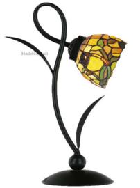CT369 Bureaulamp H40cm met Tiffany kap Ø15cm Owl