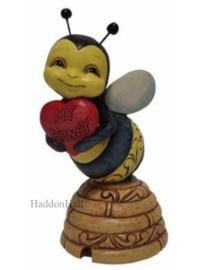 Honey Bee with Heart H8cm Jim Shore 6010271