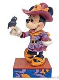 Minnie Scarecrow H16cm  Jim Shore 6010861