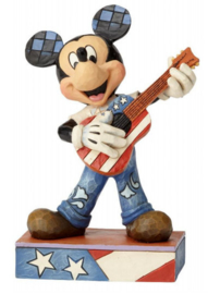 "MICKEY ""Rock and Roll"" H16cm Jim Shore 6000968"