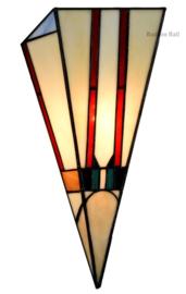 8102 Wandlamp Tiffany B20cm H38cm Little Tuschinski