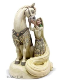Rapunzel White Woodland H22cm jim Shore 6005958