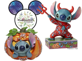 "Stitch Set van 2  ""O'Lanern"" & ""Stitch Devil"" Jim Shore"