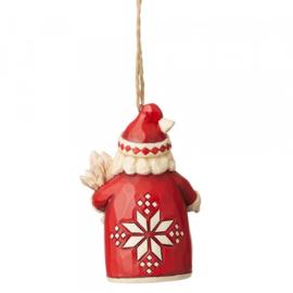 Nordic Noel - Set van 2 Hanging Ornaments - Jim Shore