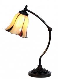 5130 Bureaulamp met Tiffany kap Ø16cm Desertwave