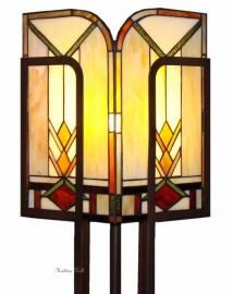 5565 Vloerlamp Tiffany H182cm Art Deco