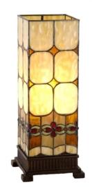 9219 Tafellamp Tiffany H44cm Windlicht model