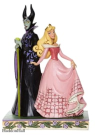 Aurora & Maleficent Sorcery and Serenity H23cm Jim Shore 6008068