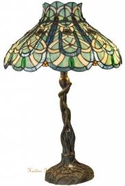 5726 Tafellamp Tiffany H58cm Ø40cm