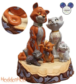 Aristocats Carved by Heart Plain Tale- Jim Shore 6007057