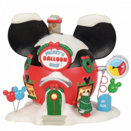 Mickey's Balloon Inflators H17cm Disney VIllage by D56 - A30107