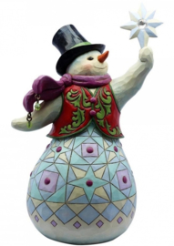 A Sparkling Celebration Like Sno-Other H 20,5 cm Snowman Jim Shore