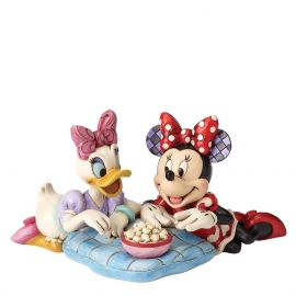 DAISY & MINNIE Girl's Night H10cm Jim Shore 4054282 Disney Traditions