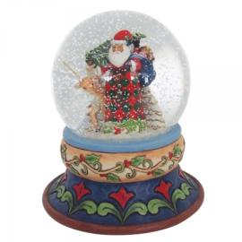 """Santa Waterbal"" H13,5cm Jim Shore 4058796"