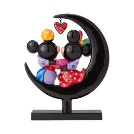 Mickey & Minnie Mouse on Moon H23cm by Britto 4059575 Limited Edition