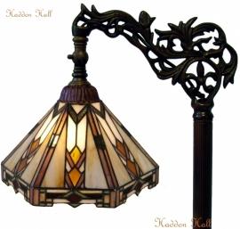 9113 9458 Vloerlamp H164cm met Tiffany kap Ø25cm Durban