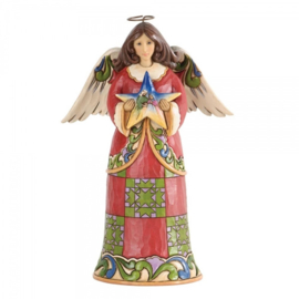 """Heavenly First Noel"" H19cm Jim Shore Nativity Angel 2013  nr. 4030244"