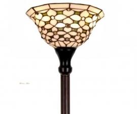 505 Vloerlamp H175cm met Tiffany kap Ø26cm Jewel