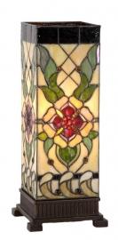 9226 Tafellamp Tiffany H44cm Windlicht Santana