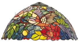 KT2666 Kap Tiffany Ø40cm Birds of Paradise