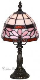 422 Tafellamp Tiffany H30cm Ø16cm Bloem Band